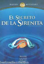 Ponyo On The Cliff By The Sea  / Secreto De La Sirenita SEALED Hayao Miyazaki