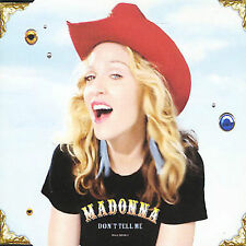 Don't Tell Me [Single] by Madonna (CD ONLY)