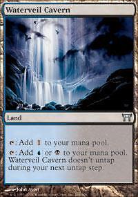 4 Part the Waterveil Blue Battle for Zendikar Mtg Magic Mythic Rare 4x x4