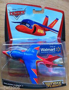 Disney PIXAR Cars TAKE FLIGHT FALCON HAWK 1 Cars TOONS Air Mater airplane jet