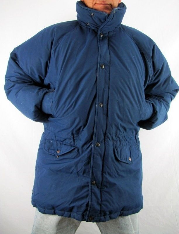 The North Face Navy bluee 100% Down Snow Winter Coat   Men's Large  GT