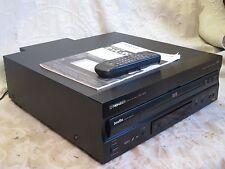 PIONEER DVL-909 TOTL DVD-LD-CD EXCELLENT LASERDISC COMBO PLAYER NEAR MINT SVIDEO