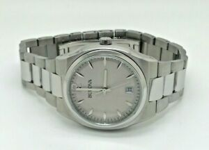 Bulova-Ladies-039-Stainless-Steel-Dress-Watch-96M126-Watch-41E