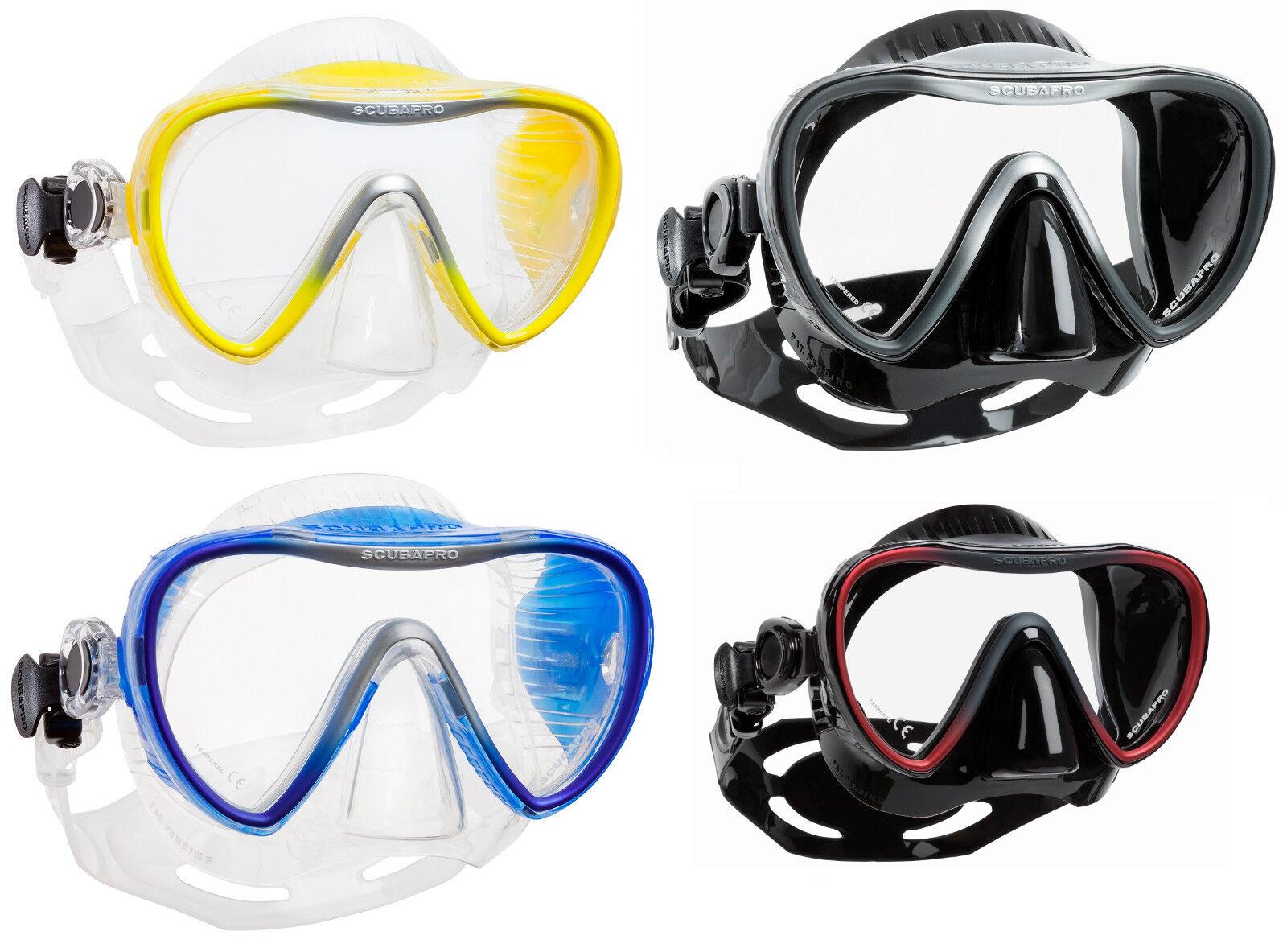 Scubapro Synergy 2 Maschera Immersioni Einglastauchmaske  Nuovo V.Fachhandel