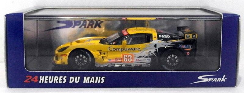 SPARK 1 43 scala resina S2579-Corvette C6 ZR1 LM CORVETTE Racing  63 LM ZR1 2010 bd694c