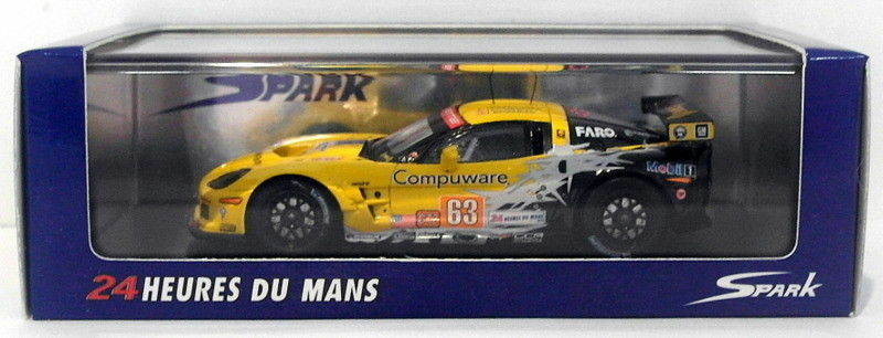 SPARK 1/43 scala resina S2579-Corvette C6 ZR1 CORVETTE Racing #63 LM 2010