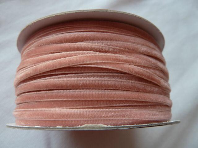 4 m Samtband Sort. 1 - 3 mm breit - Fa. Hobbyfun - versch. Farben