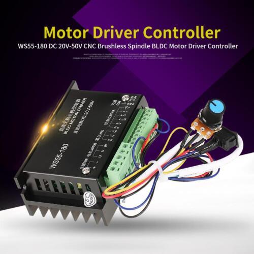 DC 20V-50V CNC 3 phase Brushless Spindle BLDC Motor Driver Controller 20000RPM ❤