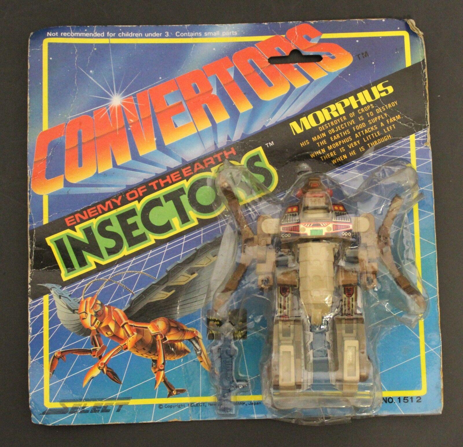 1984 Select Converdeors INSECTORS MORPHUS Beetras BeetVadam Transformers Ransack