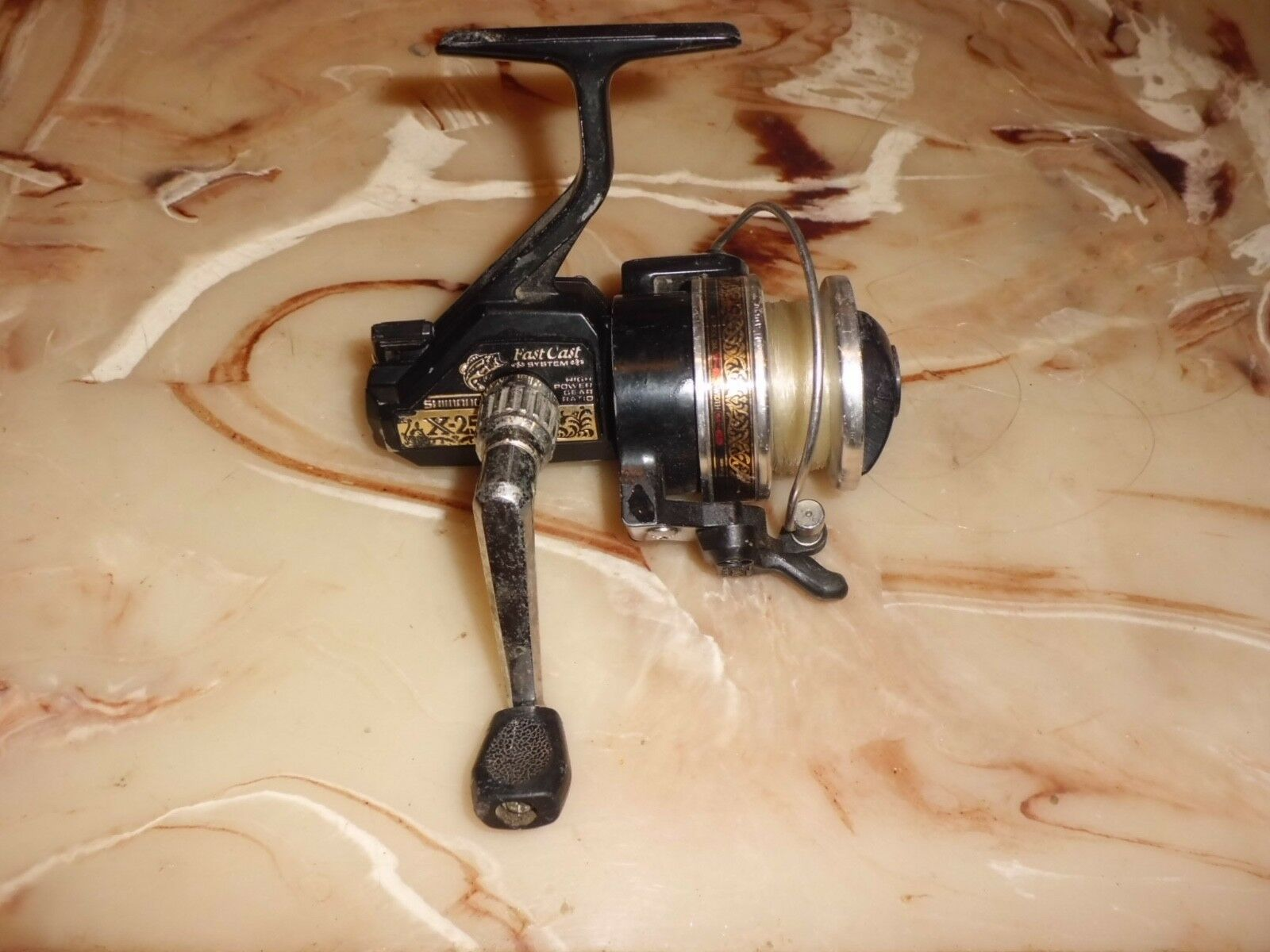 Vintage Shimano X-25 Fast Cast Spinning Reel made in Japan