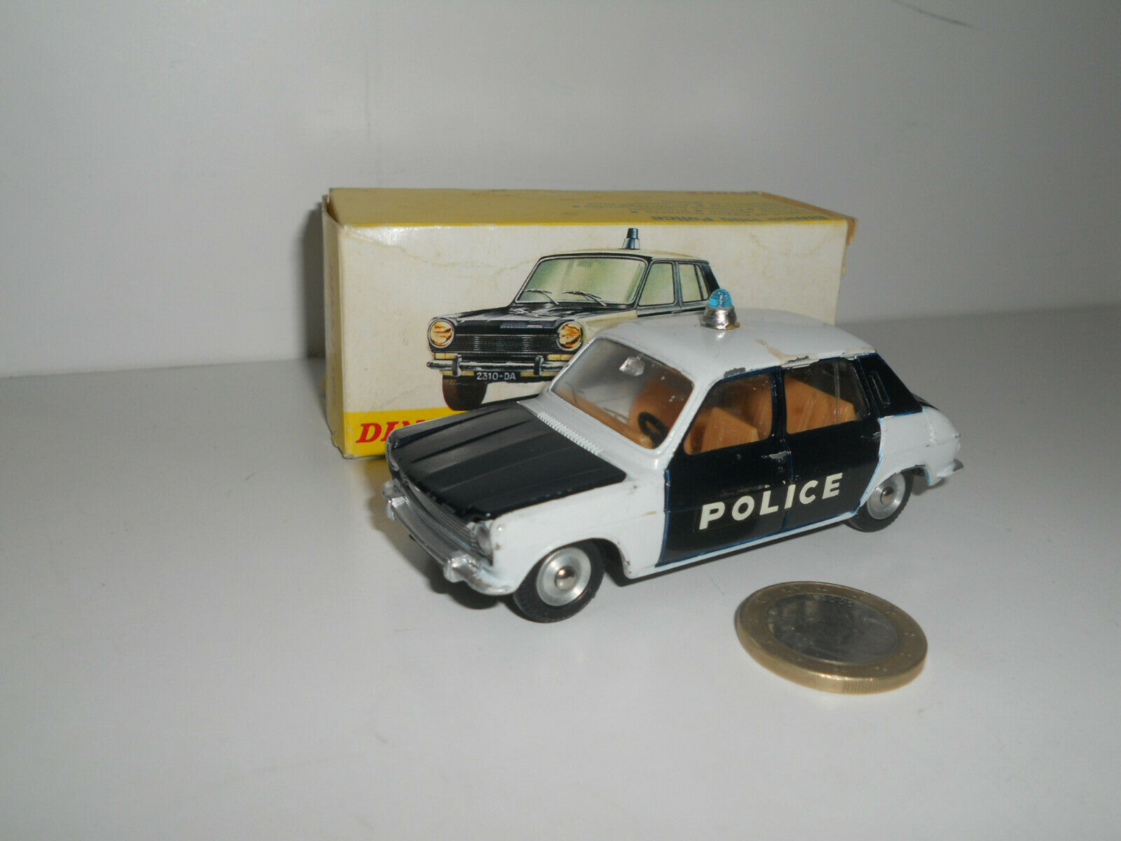 DINKY TOYS SIMCA 1100 POLICE MADE IN SPAIN N° 1450 853022