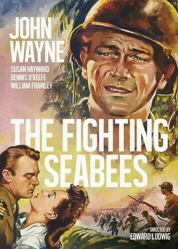 The Fighting Seabees DVD, 2013  - $6.10