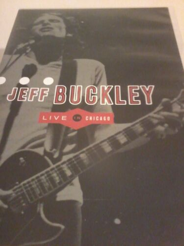 1 of 1 - JEFF BUCKLEY Live In Chicago DVD 2000 POST FREE
