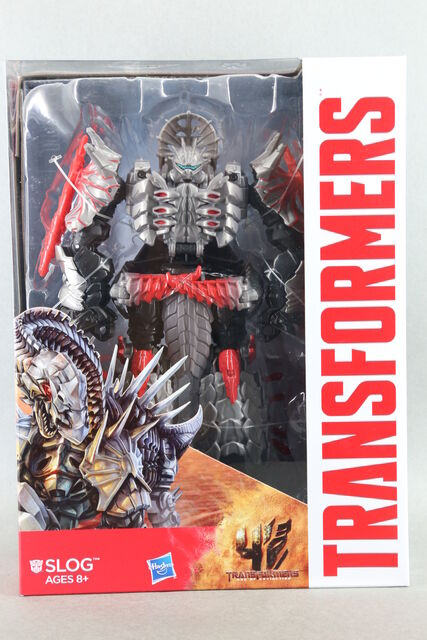 HASBRO TRANSFORMERS 4 AGE OF EXTINCTION VOYAGER CLASS SLOG ACTION FIGURE NEW