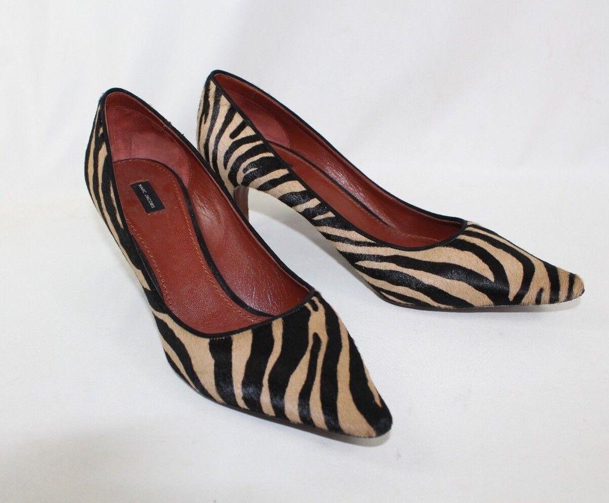 Marc Jacobs damen's Pony Hair Calf Zebra Striped High High High Heel Pumps - 38 1 2 Euro f82861
