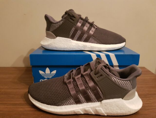 official photos f0249 e0914 adidas Pure Boost Grey White Running Shoes UK Size 8 US 8.5 EUR 42 BNWB  Ba8893