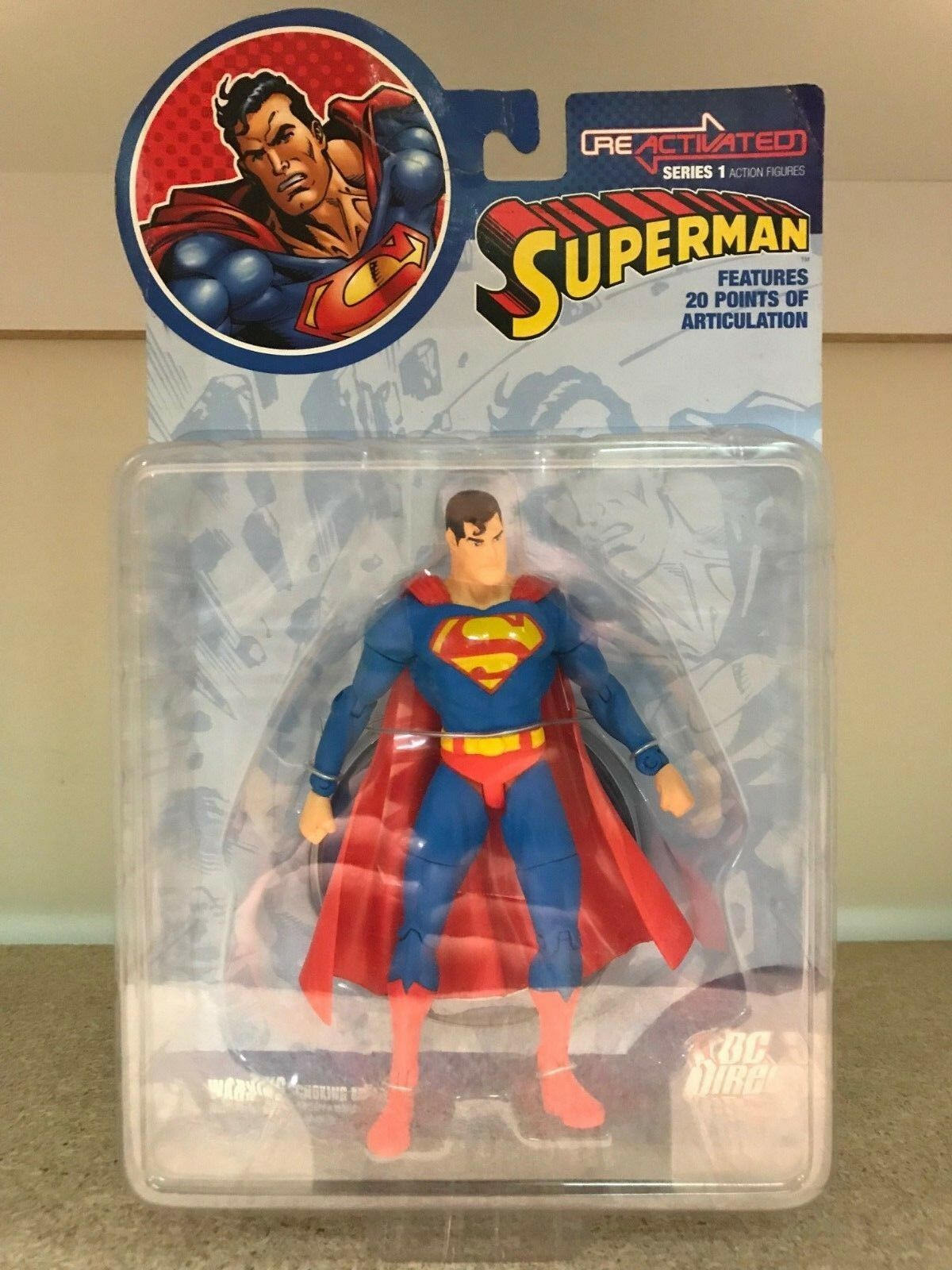 Superman Reactivated Figure - DC Direct Direct Direct Metropolis Man of Steel Justice League 0e3bee