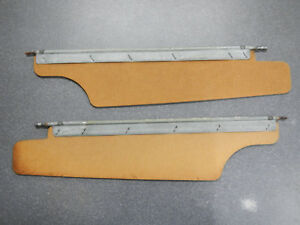 1963 Buick Riviera Sun Visors 20 1/4 inches short version Sun Visor Boards Pr 63