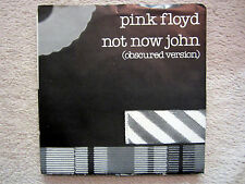 Single / PINK FLOYD / PROMO / 1983 / NOT NOW JOHN / TOP RARITÄT /