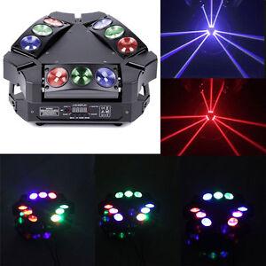 Image is loading 180W-9X-LED-Stage-Light-Mini-Bird-Moving-  sc 1 st  eBay & 180W 9X LED Stage Light Mini Bird Moving Head Light DMX DJ Disco ... azcodes.com