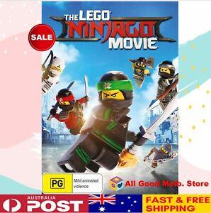 The-LEGO-Ninjago-Movie-KIDS-DVD-Region-4-NEW-FREE-SHIPPING