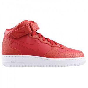 air force 1 mid '07 black gym red white nz