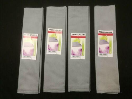 TISCHSET UNTERSETZER PLATZSET PLATZMATTE STOFF Fackelmann 100/% Baumwolle 4er Set