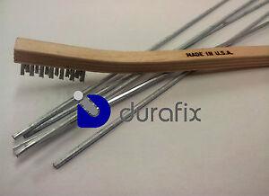 durafix 5 baguettes souder l 39 aluminium 1 brosse inox ebay. Black Bedroom Furniture Sets. Home Design Ideas