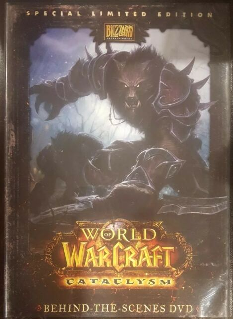 WORLD OF WARCRAFT CATACLYSM SPECIAL LIMITED EDITION RARE DVD BEHIND-THE-SCENES