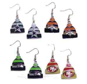 NFL-Knit-Hat-Earrings-Pick-Your-Team