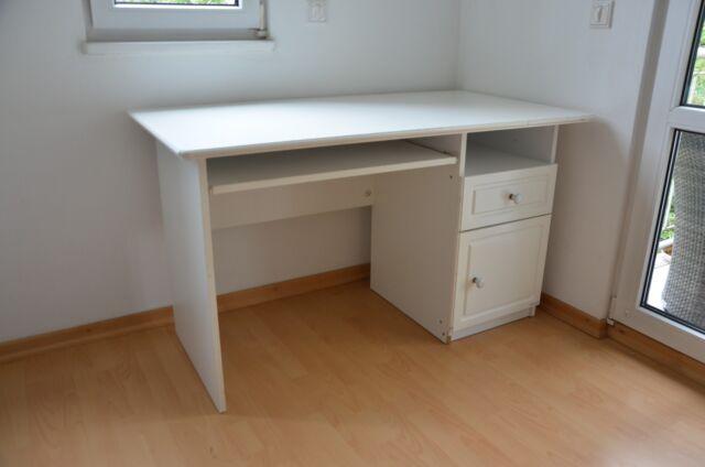 Sauthon Schreibtisch Elodie Kinderschreibtisch Jugendzimmer Weiß Kinderzimmer