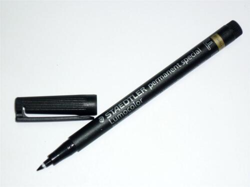 Staedtler Lumocolor permanent special 319 F-9 marker 0.6mm F BLACK FREE POSTAGE