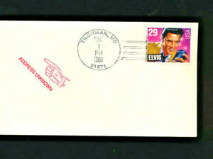 2721-Elvis-Presley-FDC-No-CACHET-Cover-January-8-1993-unofficial-cancl-LOT-765