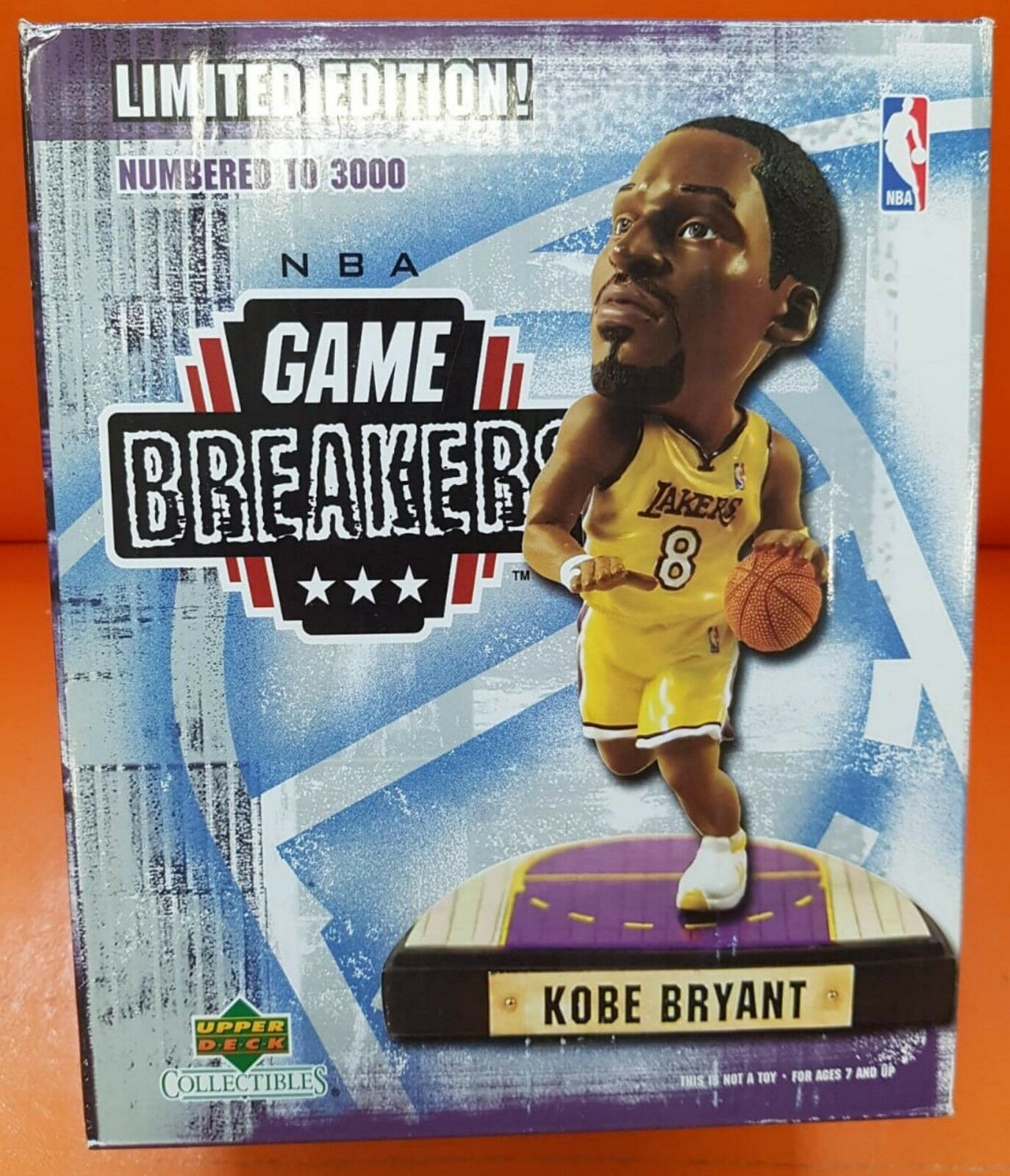 NBA Game Breakers Kobe Bryant Limited Edition Numbered Ed 3000 figures