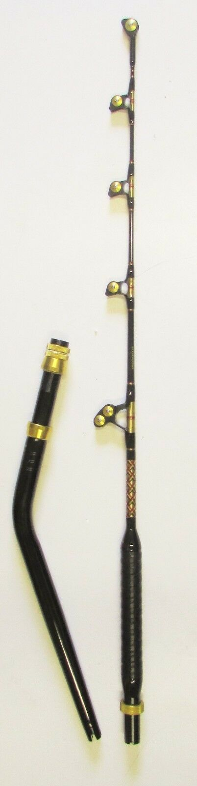 XCALIBER MARINE GOLIATH SERIES TROLLING ROD ROLLER GUIDES  50-80 LB RED AND gold  outlet online store