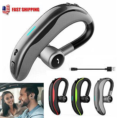 Wireless Bluetooth Headphone Ear Hook Handsfree Call For Iphone 10 8 7 6 Samsung Ebay