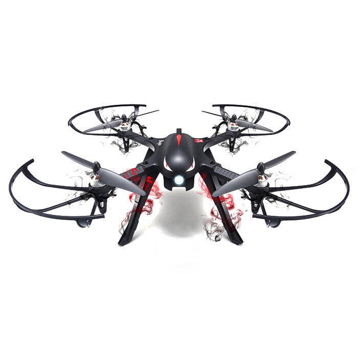 MJX B3 Bugs 3 RC Quadcopter RTF Dos Vías Radio Control 500m motor sin escobillas
