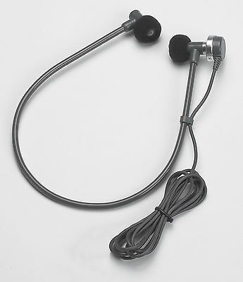 """VEC DH50-RA Transcription Headset with 3.5mm 1//8/"""" connector mono headset"""