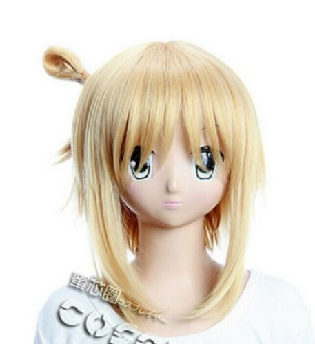 W-197 Kore wa Zombie desu ka YUKI Yoshida Cosplay Perücke Wig Anime blond blonde