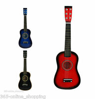NEW Childrens Childs Kids Wooden Guitar Acoustic Classic Musical Instrument Toy