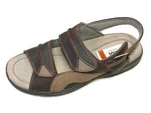 Details H Sandale Braun Herren Sandalette 65 3121 Leder Jomos Zu Weite 503620 Schuhe qRL35Aj4