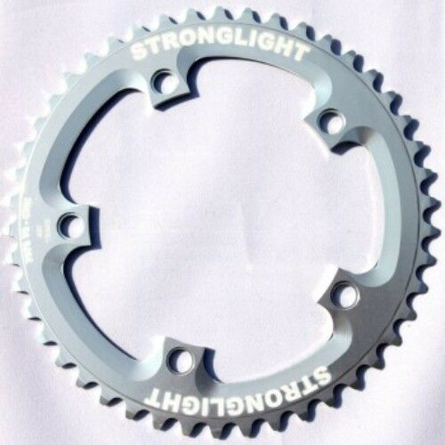 STRONGLIGHT ZICRAL 144BCD TRACK 1 8 inch CHAINRING  SILVER 49T
