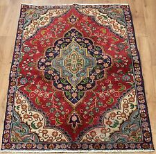 Traditional Vintage Wool Handmade Classic Oriental Area Rug Carpet 160 X 103 cm