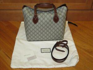 Gucci Supreme GG 2-Way Brown Shoulder Tote Bag - 429147