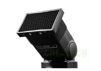 Portable Honeycomb Grid for Canon Nikon Sony Speedlight Flash Diffuser