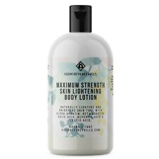 Bleaching Lotion for Body | 8% Alpha & Beta Arbutin, Glycolic & Lactic 16oz