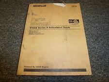cat caterpillar d350e d400e service shop manual articulated dump rh ebay com Cat D400E Cat D400 Truck