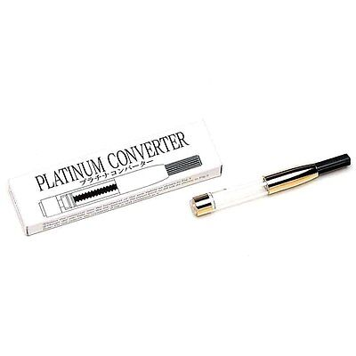 NEW Platinum Fountain Pen Ink Converter 500 Gold 0.53 cc Free S/H Japan Import