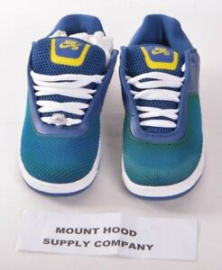 2008-NWOB-MENS-NIKE-SB-ZOOM-TRE-BEIJING-SHOES-9-Blue-Ribbon-Vibrant-Yellow-RARE