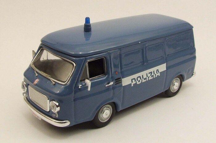 RIO 4297 - FIAT 238 POLIZIA 1974 blu  -